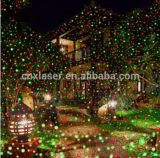 La iluminación de fuegos artificiales para la pared y el árbol, Vacaciones de nuevo la luz del láser con control remoto