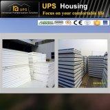 Ámérica do Sul Certificated casas do baixo custo e recipientes pré-fabricados das casas de campo