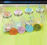 Farbige Maurer-Glas-passendes Metallunlinierte Überwurfmutter