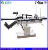 중국 공급 의료 기기 수동 측 통제되는 외과 수술 테이블