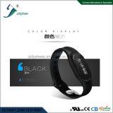 Do bracelete confidencial do esporte do molde da patente Wristband esperto complacente para o Ce, RoHS, padrão do FCC