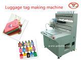 Escritura de la etiqueta del PVC que hace la escritura de la etiqueta de /Rubber de la maquinaria que forma la máquina