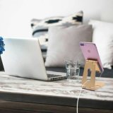Faltbarer AluminiumHandy-Standplatz-Tischplattenmontierung für iPhone, iPad