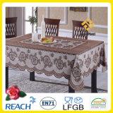 Pano de mesa de cor de rendas de PVC para banquete / Home