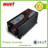 CC di Certificate 5000W del Ce di TUV Issued a CA Pure Sine Wave Power Inverter con Charger