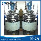 Ciotola di mescolanza mescolantesi del serbatoio di emulsionificazione del rivestimento dell'acciaio inossidabile di Pl con l'agitatore