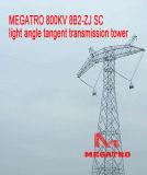 Megatro 800kv 8b2-Zj Scの照射角度のタンジェント伝達タワー