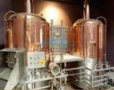 Hotel-Bier-Gerät des Goldlieferanten-700L, kupfernes Pub-Luxuxbier, das System (ACE-THG-E2, bildet)