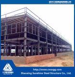 Vorfabriziertes Stahlkonstruktion-Rahmen-Lager mit Spalte, Träger
