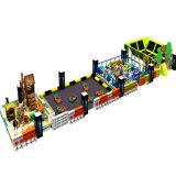 Parkのための幸せなKids Entertainment Fibreglass Indoor Playground