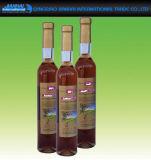Frascos feitos sob encomenda do vidro geado para o recipiente macio da bebida e do vinho