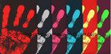 Impressão de etiquetas impressão de rótulos Personalied Fábrica tinta especial a variação da temperatura de impressão de tinta de fluorescência de etiquetas impressão Color-Changing Termossensível