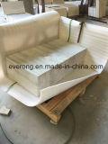 白い木の穀物または静脈の大理石、壁/床/SkirtingのためのSerpeggianteの白い大理石のタイル