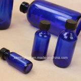 Frascos de vidro redondos de petróleo essencial do frasco 2oz do conta-gotas de Boston