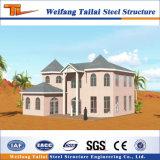 디자인 제조 조립식 집 강철 구조물 건물