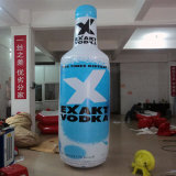 قابل للنفخ زجاجة شراب نموذج