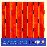 木のベニヤのメラミン装飾的なMDFの材木の音響の壁パネル