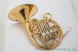 4-Key doppio corno francese staccabile - lacca dell'oro