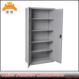 Cabinete de archivo de acero de la oficina del metal del armario del almacenaje de 2 puertas de oscilación