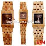 Hot Vendre mode Veille en bois et Imperméables Watch, peu coûteux de montres (JA15048)
