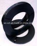 黒い鋼鉄紐で縛る鋼鉄バンディングのストリップ