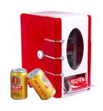 Mini boisson thermoélectrique montrant le refroidisseur avec DC12V, AC Adaptor100-240V