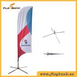 bandeira portátil de anúncio da pena da impressão de Digitas da fibra de vidro de 2.8m/bandeira do vôo