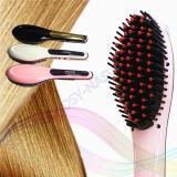 Peine eléctrico del cepillo de la enderezadora del pelo de la estrella hermosa 2017 con los certificados