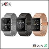 GPSのアンドロイドが付いているZ50 3Gのスマートな腕時計の携帯電話IPSのタッチ画面のBluetooth 4.4個の中国のスマートな腕時計の電話