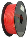 Además de ABS en espiral de 3,0 mm rojo fluorescente filamentos 3D.