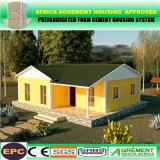 Almacén prefabricado libre de la casa prefabricada de la casa de la estructura de acero del precio bajo del gráfico