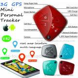 2018 3G nouvellement Tracker GPS personnel avec tombent en bas de l'alarme (V42)