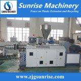플라스틱 PVC 관 및 단면도를 위한 쌍둥이 나사 압출기 기계