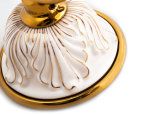 Überzogene Goldseifen-Teller-Badezimmer-Zubehör-an der Wand befestigte Haltbarkeit