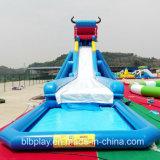 China-billig aufblasbares bewegliches Wasser-Spiel-Park-Plättchen