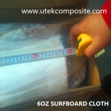 paño de la fibra de vidrio 6oz con el hilado Twisted para la tabla hawaiana