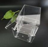 写真が付いている明確なアクリルの花の包装ボックス