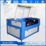 Gravação a laser 3D máquina de corte a laser de CO2 para o couro do papel