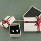 Qualitätspackpapier-Schmucksache-Geschenk-Kasten-Schmucksache-Kasten mit Farbband-Dekoration