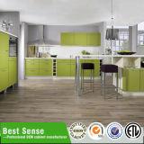 2パックの緑のラッカー絵画台所および台所家具