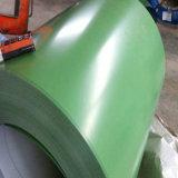 Bobine en acier galvanisée enduite d'une première couche de peinture à chaud PPGI