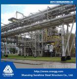 Estrutura em aço estrutural de Q235 Aço para a indústria química