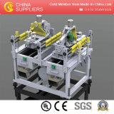 Máquina de fabricación de placa impermeable de moda promocional del apartadero de la pared del PVC