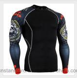 Sportwear degli uomini Anti-UV di addestramento del nuovo manicotto lungo di disegno