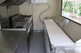 Rimorchi mobili di vendita della via con il rimorchio della cucina della sbarra del rimorchio fatto in Cina