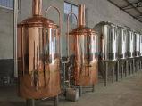 Equipamento métrico do Saccharification da fabricação de cerveja de cerveja da linha