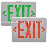 조밀한 저프로파일 이중 전압 배터리 백업 붉은 글자 출구 빛