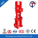 Pompe à eau Emergency verticale électrique de lutte contre l'incendie de série de Xbd