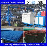 PVC 환경 보호 최신 용해 살포 두 배 색깔 차 지면 매트 플라스틱 생산 라인