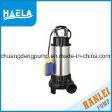 2pouce V1300f d'eaux usées submersible avec haut débit de pompe à eau